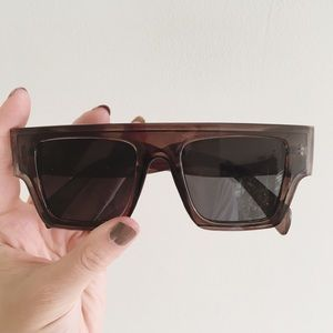 Urban Outfitters Oversized Square Rim Sunglasses